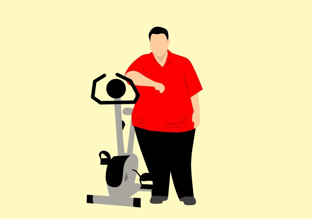 Exercise for the obese or overweight