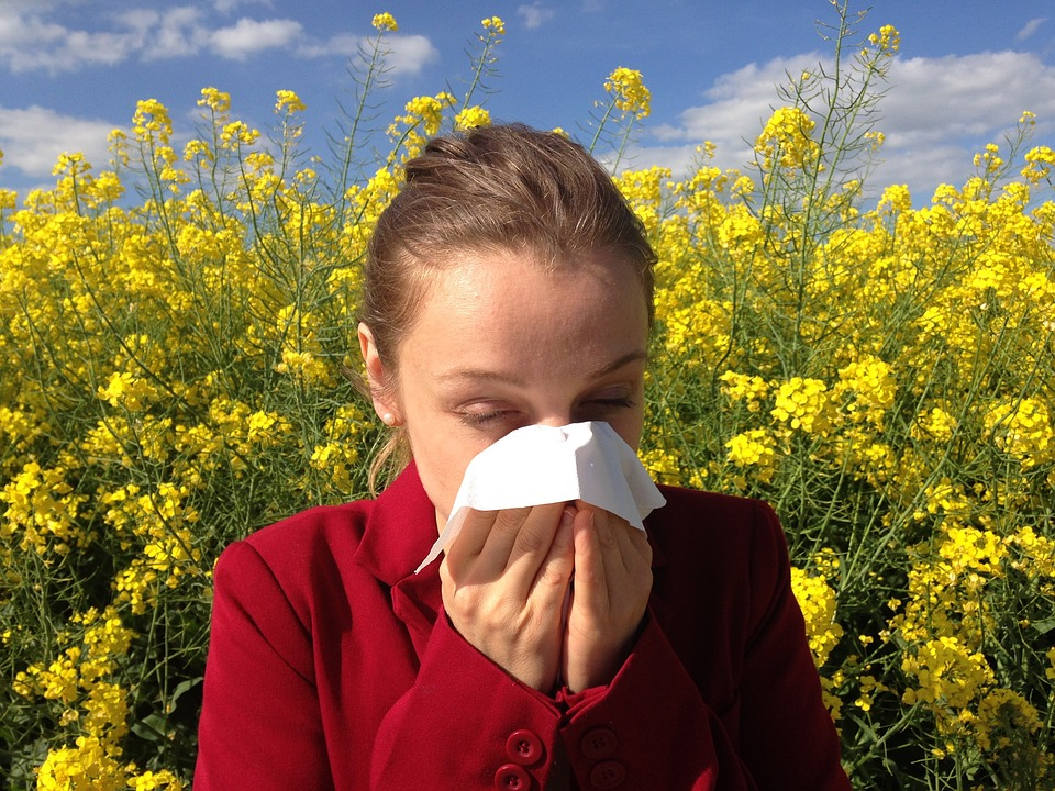 Hayfever diet and exercise