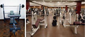 Home training vs gym