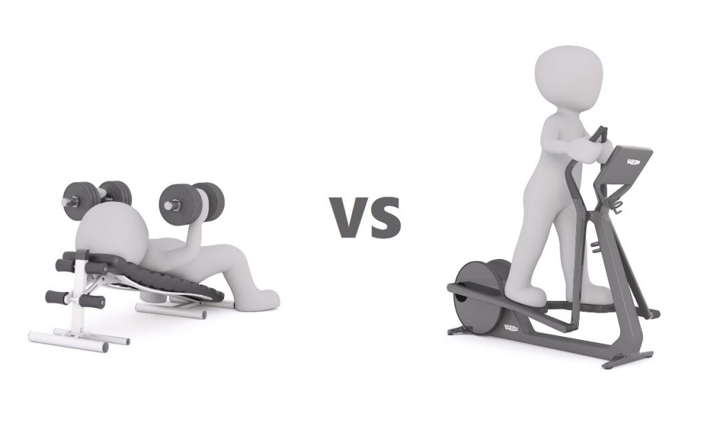 Resistance training vs cardio for fitness